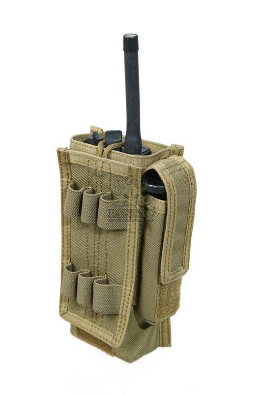 Оригинал Подсумок для рации универсальный молле Pantac SpecOps Malice Universal Radio Pouch PH-C422, Cordura