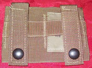 Оригинал Адаптер для клипс на молле армии США USGI USMC SDS Molle II Alice Clip Adapter Coyote Brown