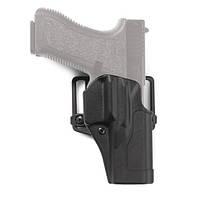 Оригинал Полимерная кобура Blackhawk Sportster Standard CQC Concealment Holster 415604 (Beretta) Чорний, Права