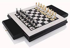 Шахматы 8503-H, черно-белая доска