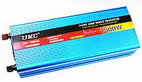 Преобразователь напряжения Power Inverter UKC 1500W с чистой синусоидой 12v в 220v