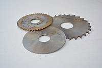 Фреза дисковая ф  80х2.5х22 мм Р6М5 z=20 отрезная, со ступицей, с ш/п, фото 1