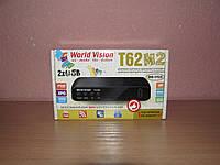 World Vision T62M2 цифровой эфирный ресивер DVB-T/Т2/C, фото 1