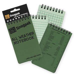 Snugpak All Weather Notebook, Small 9737 Тан (Tan)