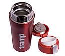Термос для чая и кофе Tramp TRC-106 (0,35л), красный, фото 4