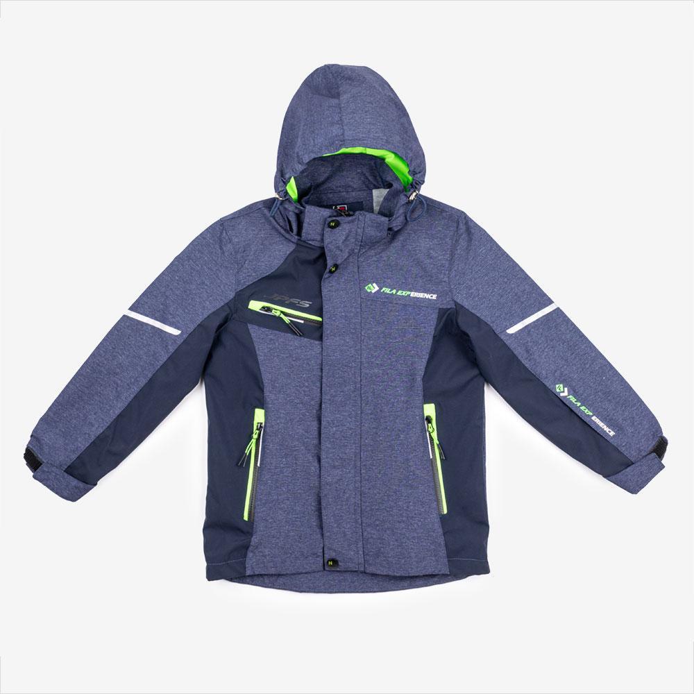 Куртка демисезонная для мальчиков Fila 128  синий G-09
