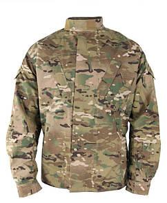 Оригинал Военная огнеупорная форма армии США (верх) USGI Defender M FR ACU COMBAT COAT Multicam, 65/25/10