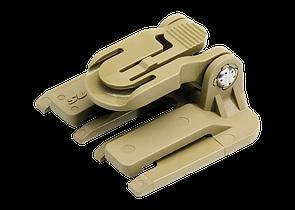 SUREFIRE® HELMET LIGHT MOLLE CLIP Z71 Тан (Tan)