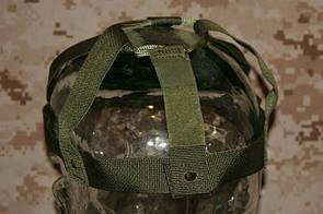 Оригинал Подвесная система для балистического шлема USGI Kevlar PASGT Troop Parachutist Helmet Suspension