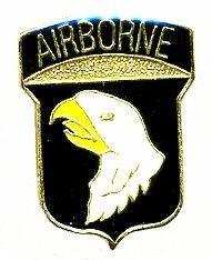 Оригинал Значок US Army 101st Airborne Hat Lapel Pin