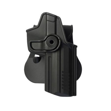 Оригинал Тактическая полимерная кобура для Heckler & Koch 45/45C IMI-Z1220 Чорний