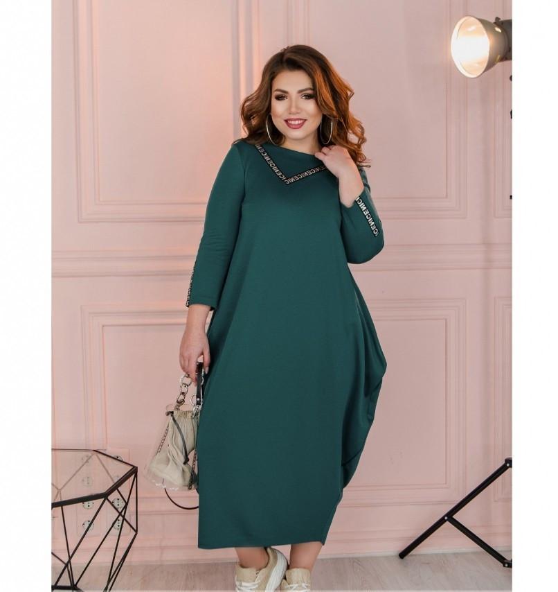 Платье Minova 1114-1-морская-волна