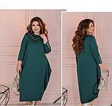 Платье Minova 1114-1-морская-волна, фото 2