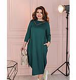 Платье Minova 1114-1-морская-волна, фото 3