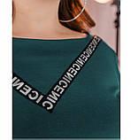 Платье Minova 1114-1-морская-волна, фото 4
