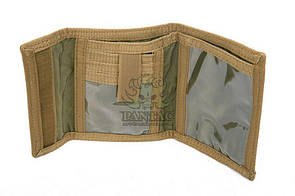 Pantac Wallet Mod A OT-C043, Cordura Чорний