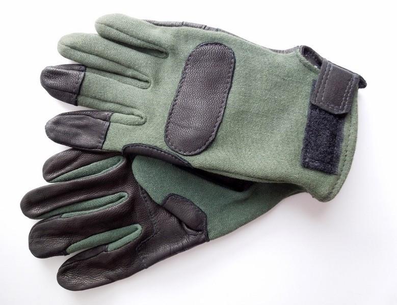 Оригинал Кевларовые военные перчатки армии США USGI Hawkeye Army Military Kevlar Combat Gloves, Hawkeye Small, Олива (Olive)