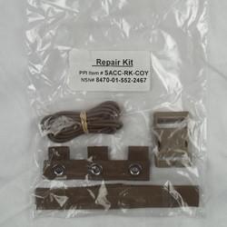 Оригинал Ремкомплект Бронежилета армии США США USGI MTV repair kit Койот Браун