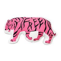 Подушка IKEA URSKOG Тигр Бело-розовый (104.140.47)