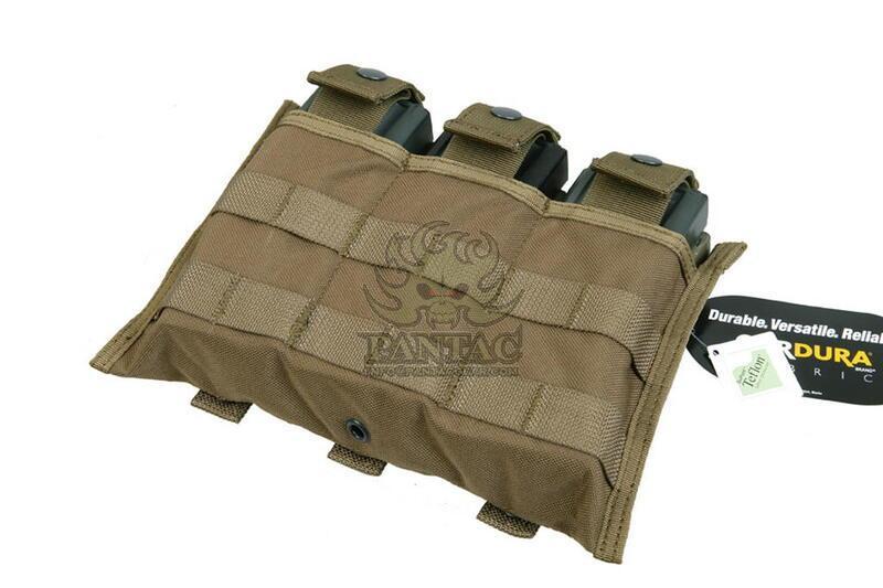Pantac M16 Triple Mag Pouch PH-C879, Mod A, Cordura Crye Precision MULTICAM