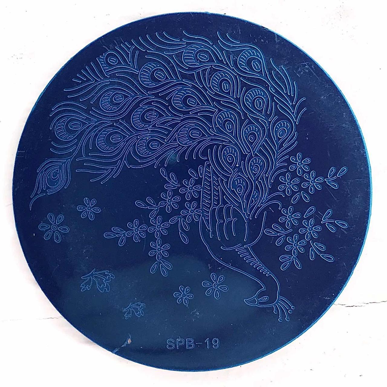 Пластина для стемпинга (круглая) SPB 19