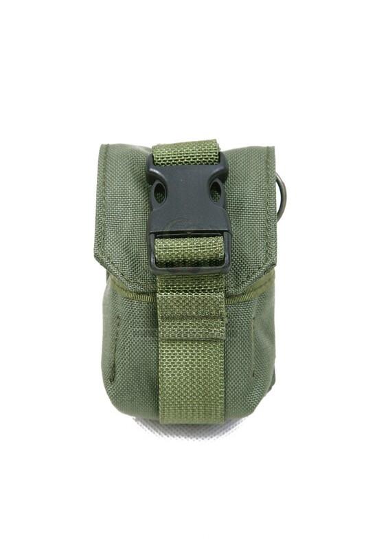 Оригинал Подсумок гранатный молле Shark Gear Molle Single Fragment Grenade Pouch 80001211 Digital Woodland