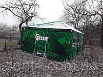 Шатер 4х4 метра торговый, палатка для кафе, садовая, уличная, пивная, тент замена, фото 3