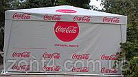 Шатер 4х4 метра торговый, палатка для кафе, садовая, уличная, пивная, тент замена, фото 5