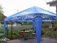 Шатер 4х4 метра торговый, палатка для кафе, садовая, уличная, пивная, тент замена, фото 6