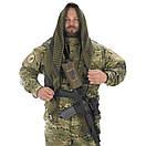 Оригинал Тактический шемаг куфия шарф CAMCON Shemagh 6103 Desert Tan (пустельний)/Чорний, фото 4