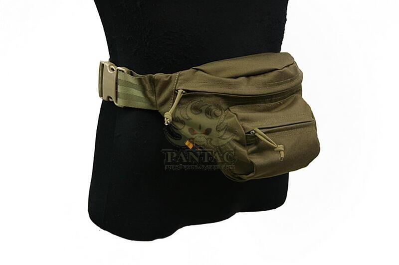Оригинал Тактическая поясная сумка Shark Gear ERB Wraist Bag 70003016 Digital Woodland (копія АОР2)