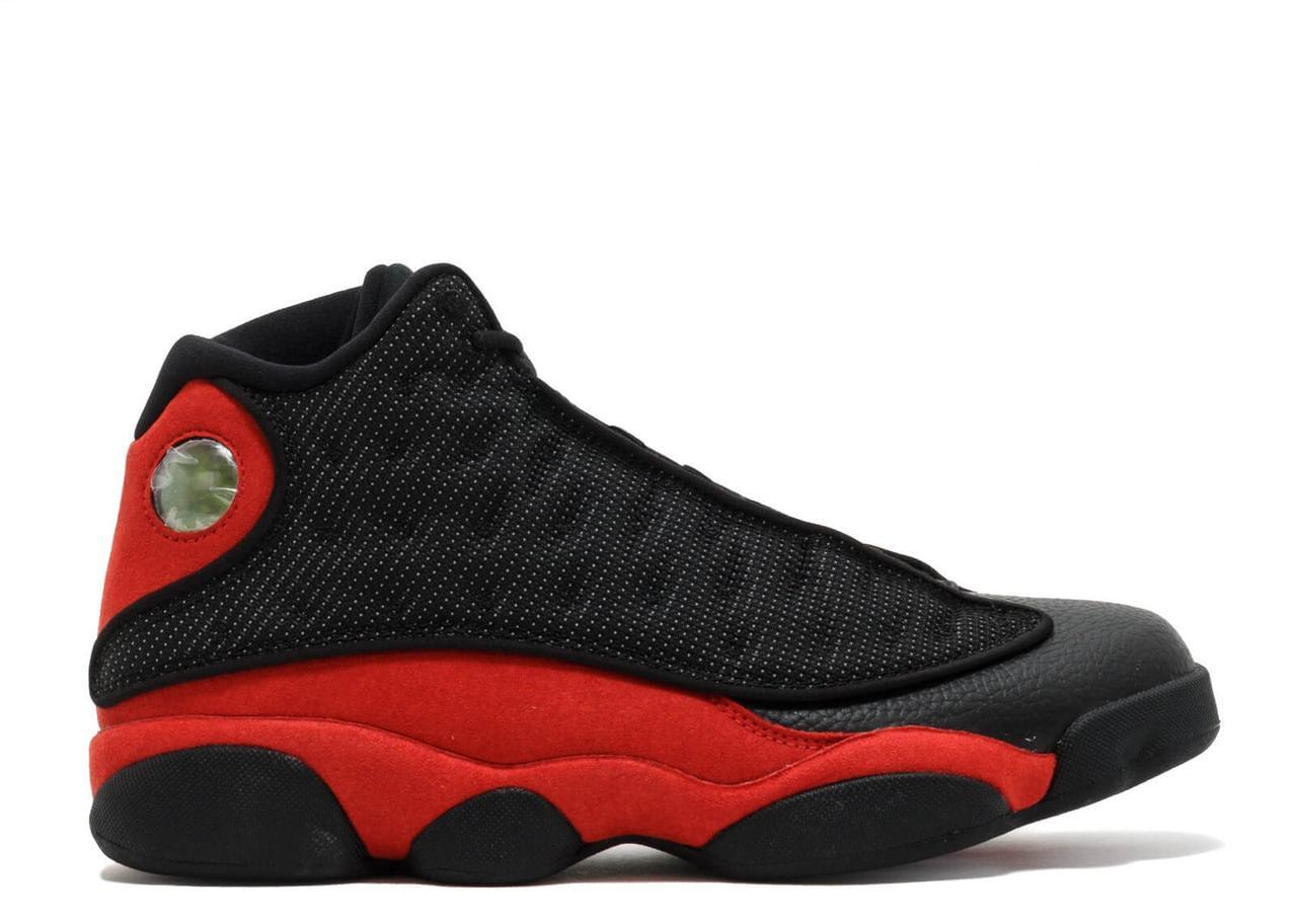 Баскетбольные кроссовки Air Jordan 13 Retro Black Red