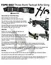 Оригинал Трехточечный оружейный ремень Condor Tactical 3 Point Sling T3PS Тан (Tan), фото 9