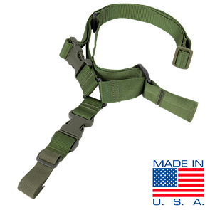 Оригинал Ремень для оружия одноточечный Condor Quick One Point Sling US1008 Олива (Olive)