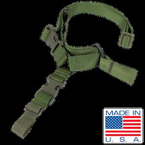 Оригинал Ремень для оружия одноточечный Condor Quick One Point Sling US1008 Чорний