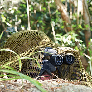 Оригинал Маскировочная сеть для лица CAMCON Face Veil 610 Woodland