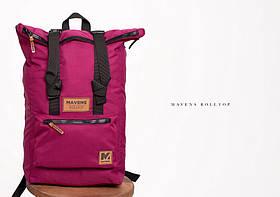 Рюкзак «Mavens Rolltop» для ручной клади Wizz Air (40х30х20) | Ryanair (40х20х25) Цвет фиолетовый