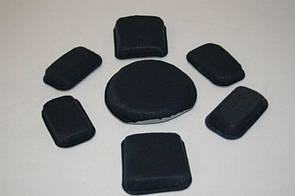 "USGI Complete Set of ACH MICH Helmet Suspension Pads Size 6 Medium, 3/4"" Padding"