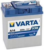 Аккумулятор 40Ah-12v VARTA BD(A14) (187х127х227),R,EN330