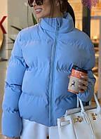 Куртка женская демисезонная силикон 200 С, М, Л фисташка,серый,розовый, фото 1
