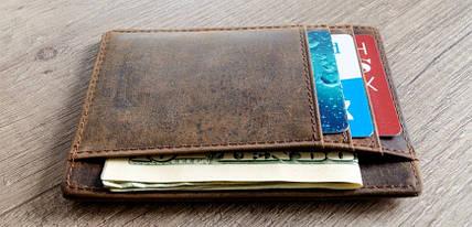Стильний і мінімалістичний - познайомтеся з кращими моделями тонких чоловічих гаманців з нашого ассотрименту!