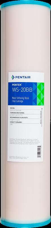 Картридж с катионообменной смолой Pentek WS-20 BB