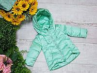 Куртка для девочки осень  весна код W-202  размеры на рост от 68 до 92 возраст от 1  года до 6 лет, фото 1