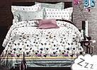 Комплект постельного белья Микроволокно HXDD-666 M&M 5867 Белый, Серый, фото 2