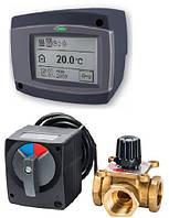 Электроприводы и трёхходовые смесительные клапаны Meibes
