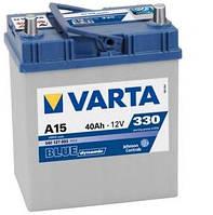 Аккумулятор 40Ah-12v VARTA BD(A15) (187х127х227),L,EN330