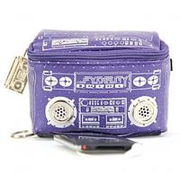 """Міні-сумка з динаміками """"Le Boom Box"""", фіолетова"""