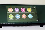 """Дзеркало відеореєстратор DVR V9TP Full HD 5"""" реєстратор з сенсорним екраном і камерою заднього виду, фото 3"""