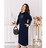 Платье Minova 100094-синий, фото 4
