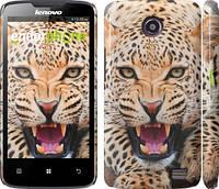 """Чехол на Lenovo A820 Леопард """"846c-68"""""""
